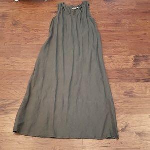Flax linen maxi dress